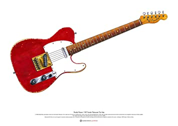 George Morgan Illustration Guitarra Fender Telecaster de ...
