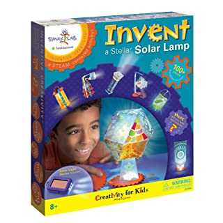 Creativity for Kids Spark!Lab Smithsonian Invent A Stellar Solar Light Kit