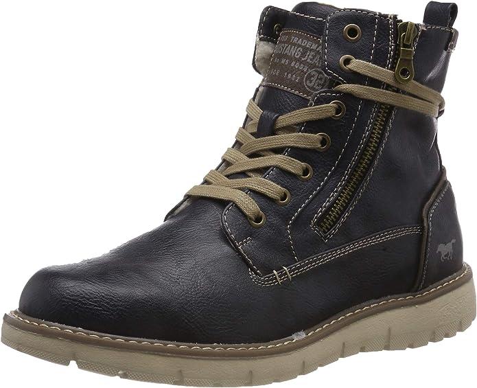 TALLA 41 EU. MUSTANG Men's Boots Blue