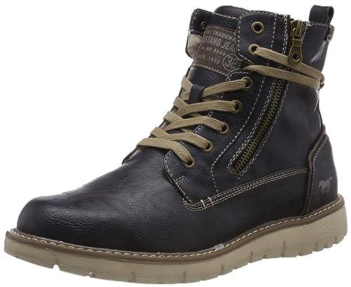 Mustang Schnür-Boot, Botas Clasicas para Hombre: Amazon.es: Zapatos y complementos