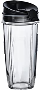 Nutri Ninja 32 oz Tritan Cups with Sip & Seal Lids. Compatible with BL480, BL490, BL640, BL680 Auto IQ Series Blenders