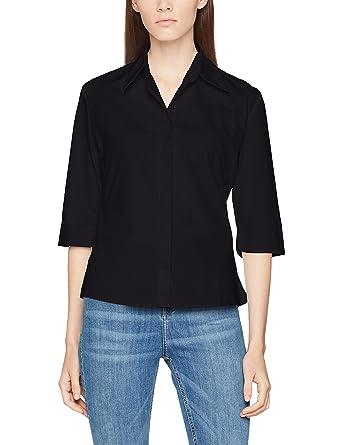 ab2542ee5 Kustom Kit Women's's Continental Ladies 3/4 Sleeve Blouse: Amazon.co ...