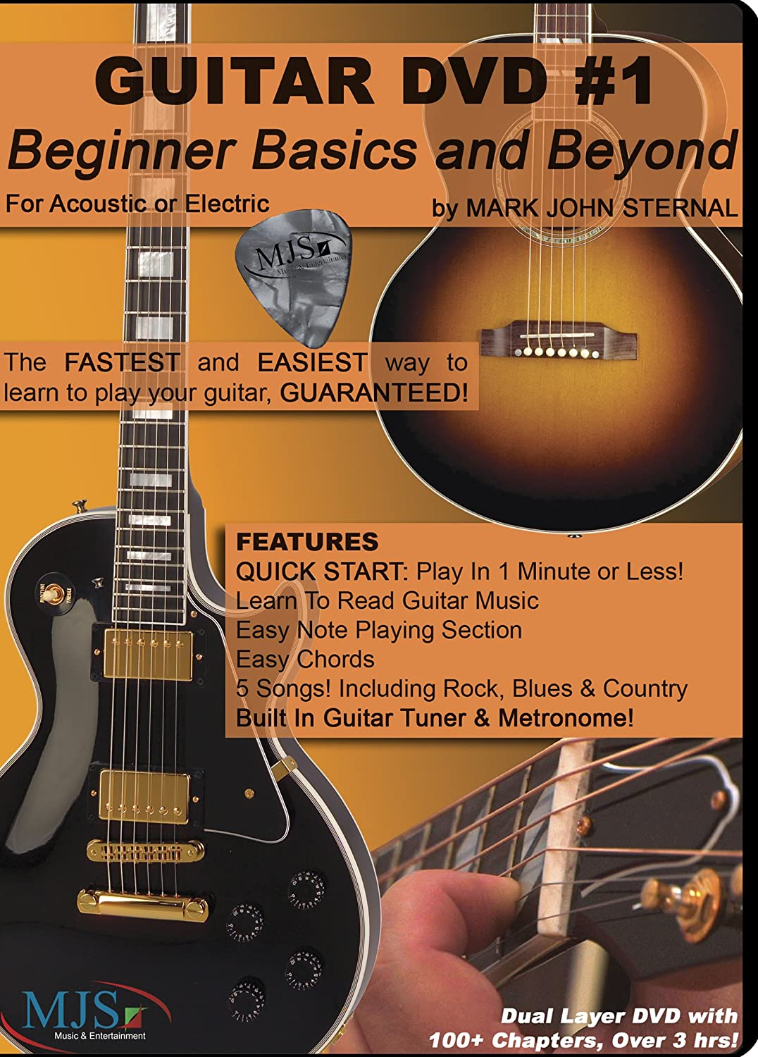 Amazon Guitar Dvd 1 Beginner Basics And Beyond Mark John