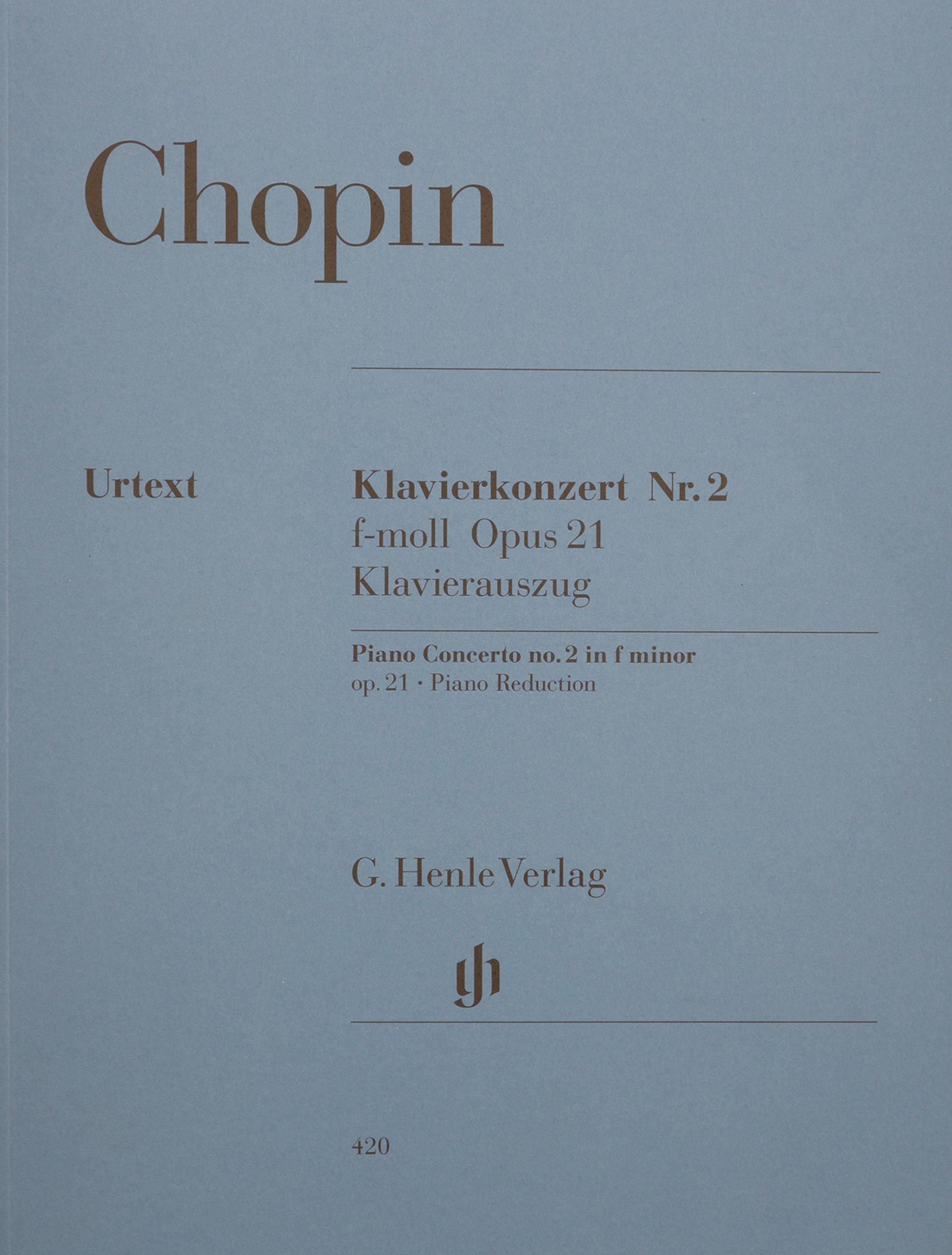 Concerto for Piano and Orchestra F minor Op. 21, No. 2 pdf
