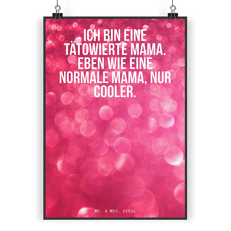 Mutter Geschenk Mama beste Mama Postkarte Spruch Tattoo Mama Muttertag