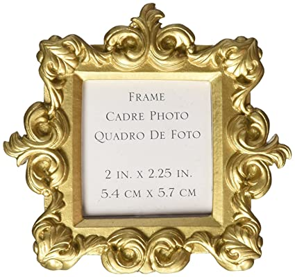 21807894af0 Amazon.com  FavorOnline Royale Gold Baroque Place Card Photo Holder ...