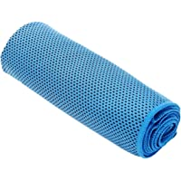 Housweety Cooling Towel For Sports, Workout, Fitness, Gym, Yoga, Pilates, Travel, Camping