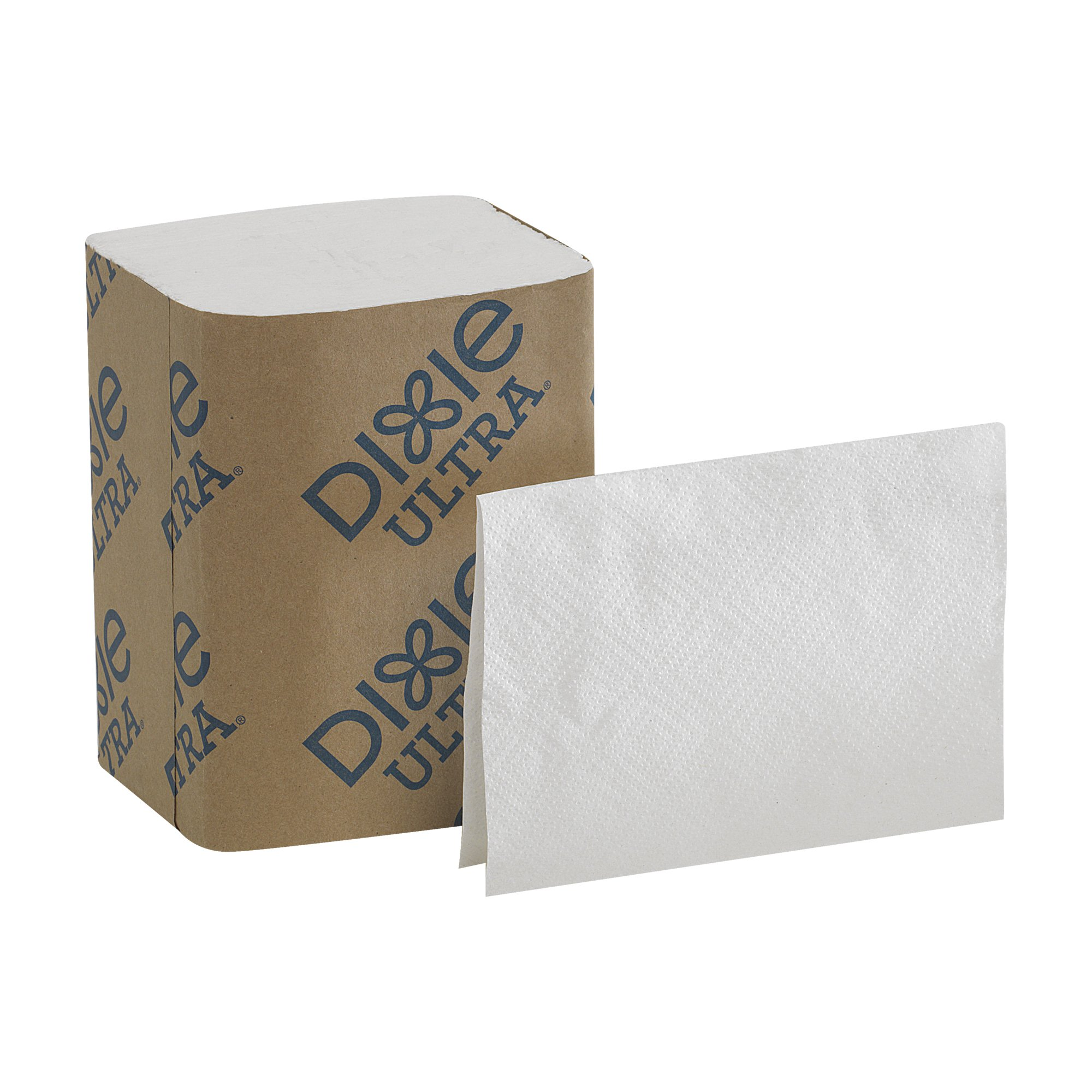 Dixie Ultra Interfold 2-Ply Napkin Dispenser Refill (Formerly EasyNap) by GP PRO, 32001, White (Case of 4 Packs, 250 Napkins per Pack; 1000 Napkins Total)