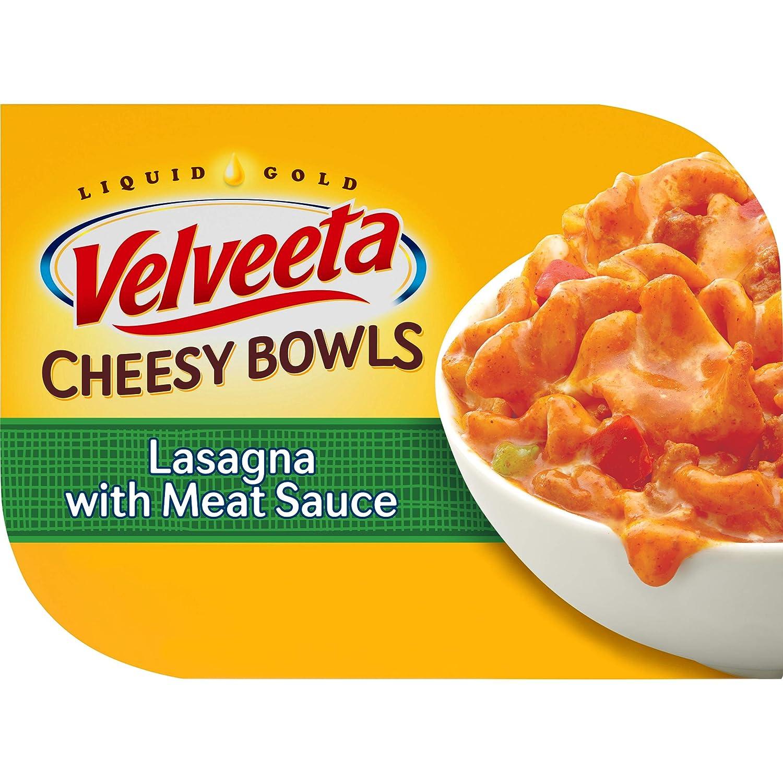 Velveeta Cheesy Lasagna with Meat Sauce Bowl Singles (9oz Box)