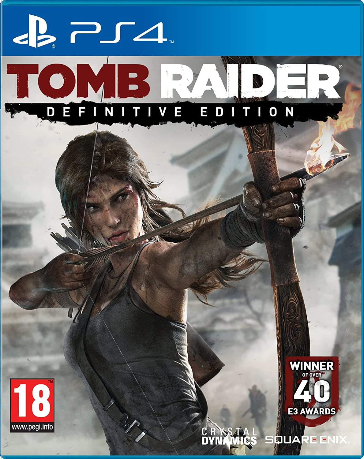 Amazon Com Tomb Raider Definitive Edition Sony Playstation 4 Ps4 Game Uk Ps4 Health Personal Care