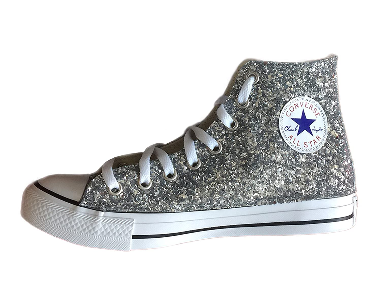 all star converse con brillantini