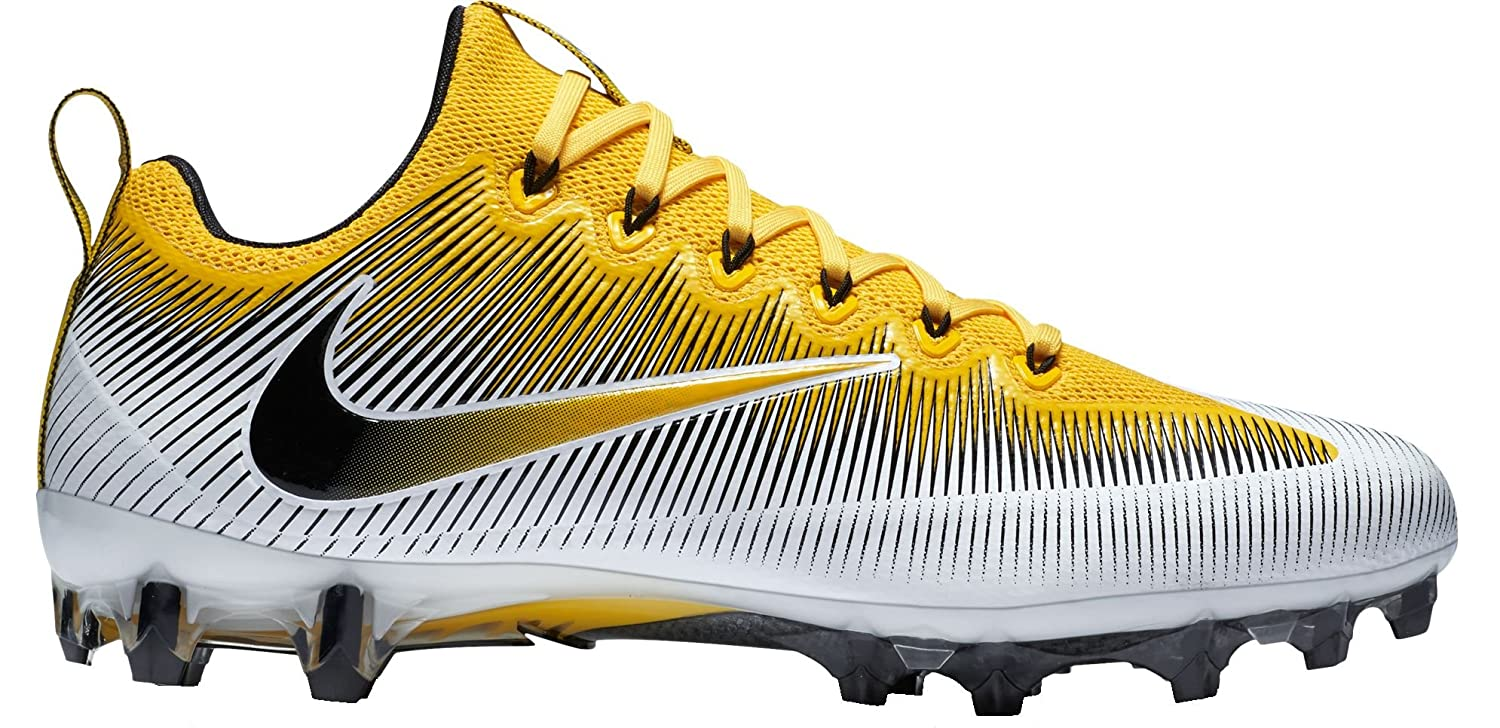 NIKE Vapor Leather Untouchable Pro Men's Faux Leather Vapor Lightweight Football Cleats Shoes B0082S4GCU 15 M US|Tour Yellow/Black-white-laser Orange 348fa5