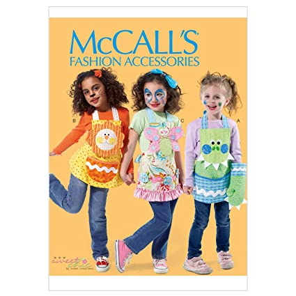 Amazon Mccall Patterns M6618kid Childrens Aprons Mitts And
