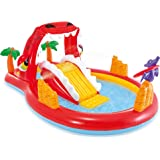 Intex 57160 Happy Dino Play Center Pool For Kids With Toys