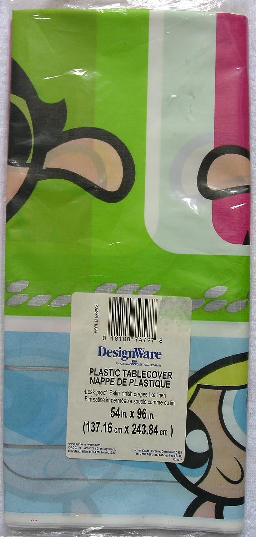 Powerpuff Girls Plastic Table Cover (1ct) by Designware