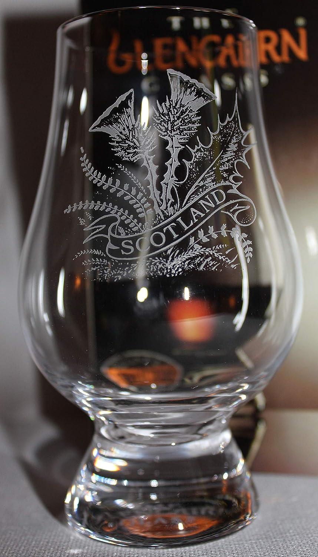 SCOTTISH THISTLE GLENCAIRN SCOTCH MALT WHISKY TASTING GLASS