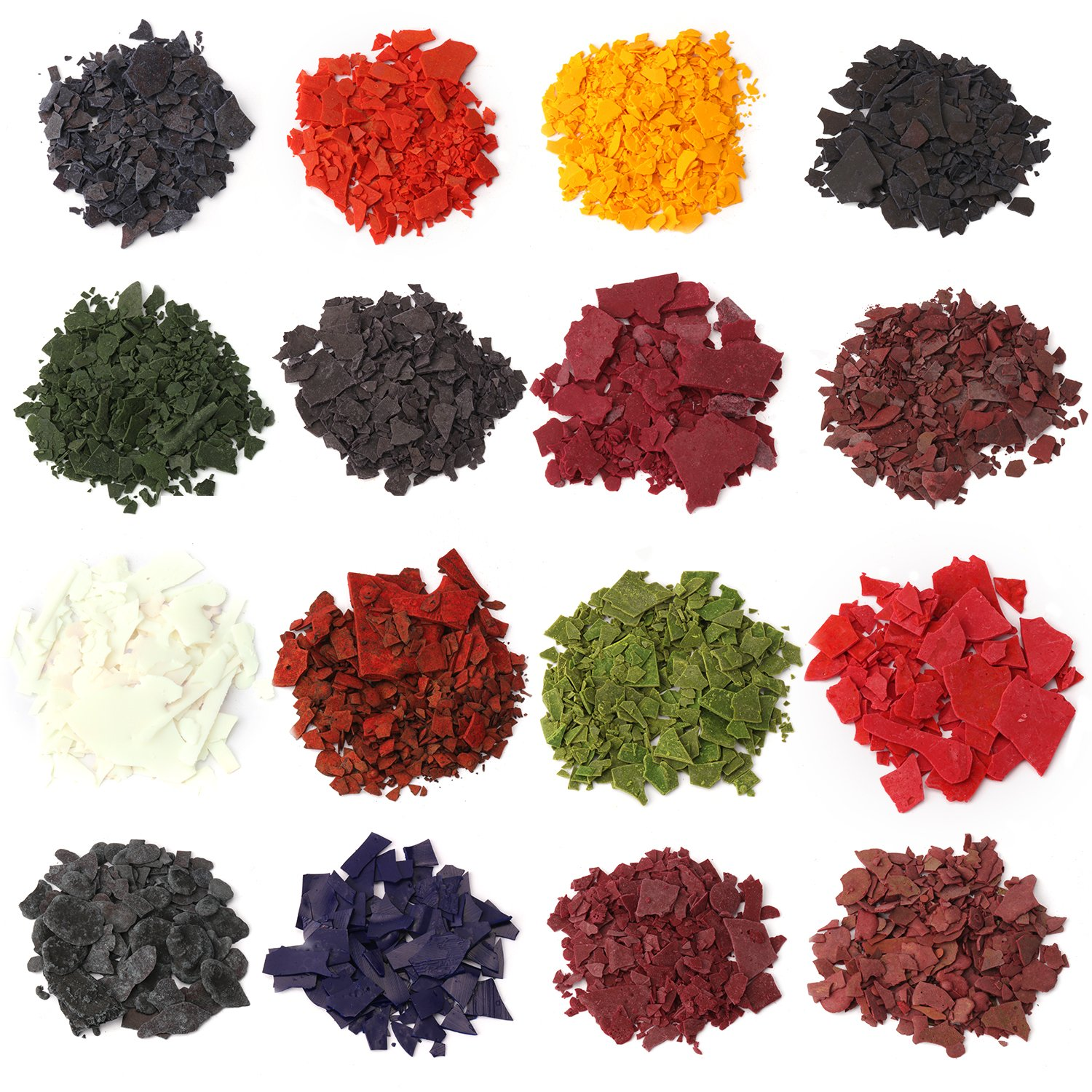 Candle Wax Dye - Dye Chips for Making Candles - 16 Dye Colors - A Great  Choice of Colors - 0 15 Ounce Each Color - DIY Candle