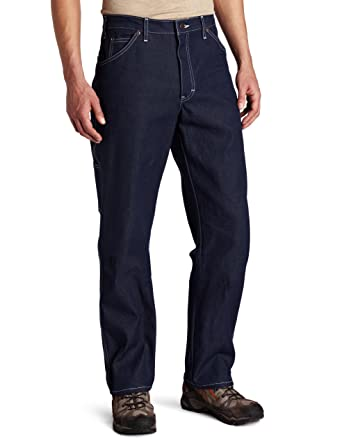 ad1a9b68ea Dickies Men's Relaxed-Fit Carpenter Jean at Amazon Men's Clothing store: