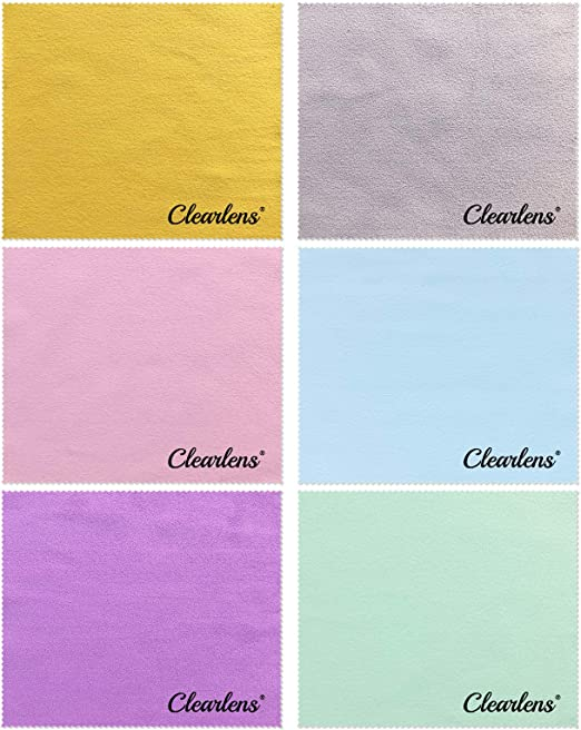 Cleaning Cloths Microfibre Fiber Eyeglasses Wipes Chamois Glasses Cleaner