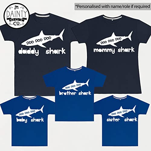 e66e2c9cc0378 Baby Shark, Daddy Shark,Mommy Shark, Matching Family T Shirts, Father Son  outfits, Mother Daughter Outfits, Daddy Matching, Father Son Set:  Amazon.co.uk: ...