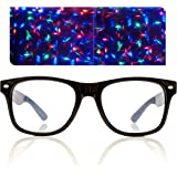 Premium Starburst Diffraction Glasses - Ideal for Raves, Festivals, and More