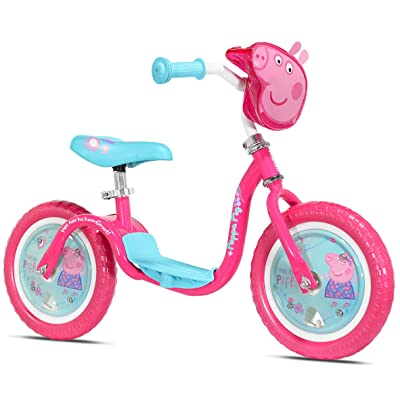 KaZAM 37397K v2e No Pedal Balance Bike, Peppa Pig: Sports & Outdoors