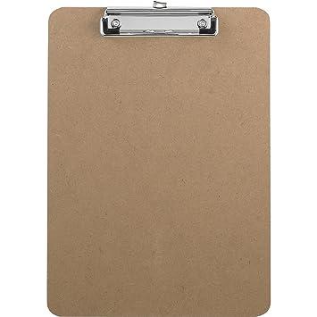 Saunders Advantage Hard Board Clipboard With Low Profile Clip, Standard  Letter Size (12