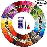Madejas de Hilos 144 Madejas 48 Colores Fuyit