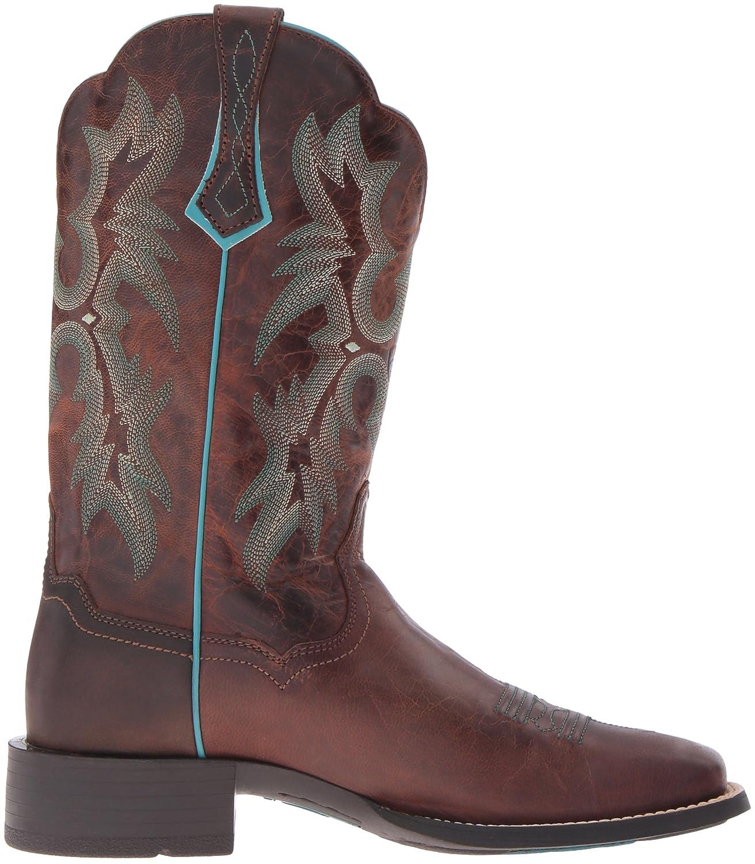 Ariat 8017 Tombstone Brown Lederstiefel für Damen Braun