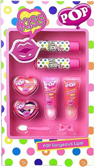 POP- Gorgeous Lips, estuche de maquillaje infantil (Markwins Beauty Brands 3600210): Amazon.es: Juguetes y juegos