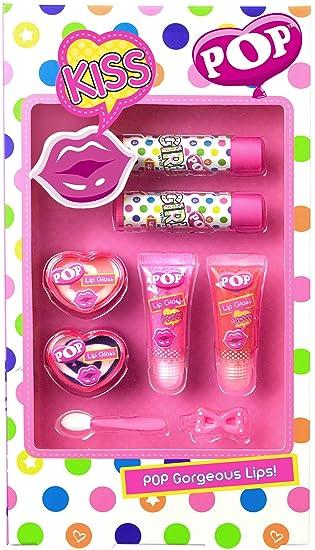 POP- Gorgeous Lips, estuche de maquillaje infantil (Markwins ...