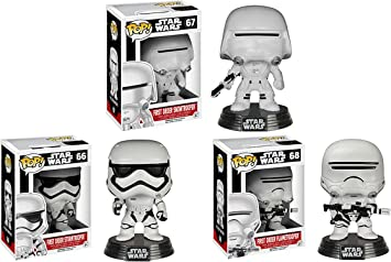 Star Wars Episode 7 Funko Pop First Order Flametrooper 6224 Accessory Toys /& Games