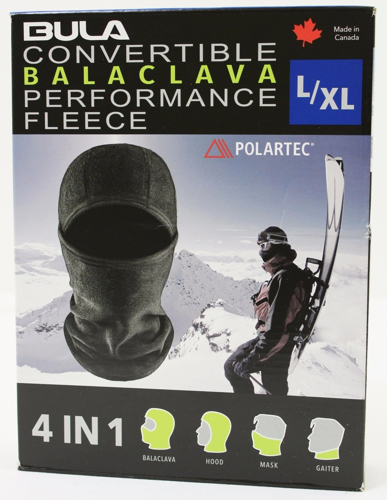 BULA Convertible Balaclava Performance Fleece