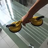 ZUOS Heavy Duty Suction Cups Double Handle Vacuum