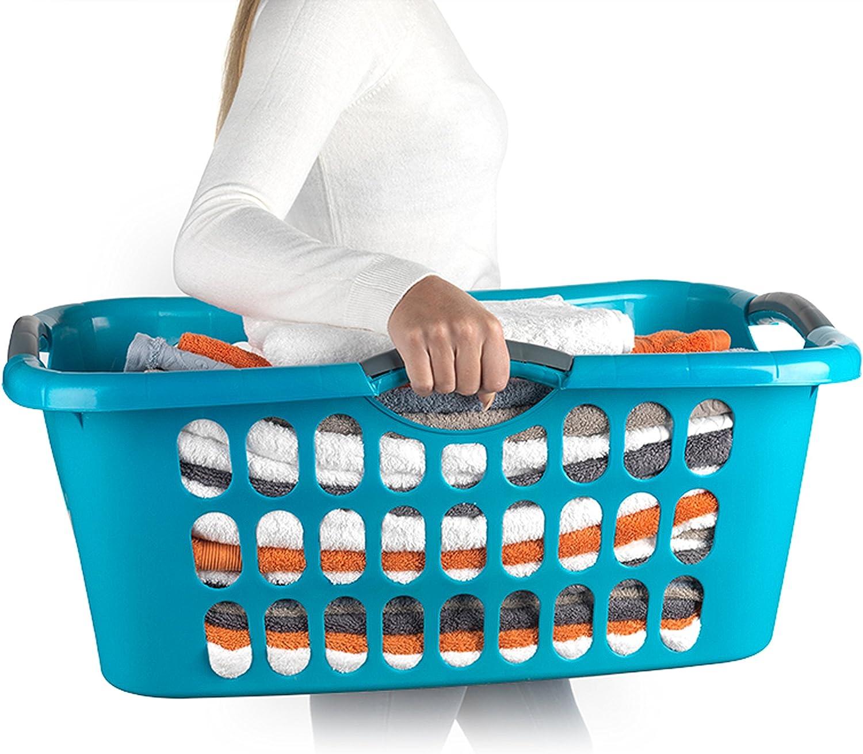 Beldray LA038357 Hip Hugger Lattice Style Durable Laundry Basket ...