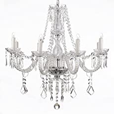 Chandeliers Amazoncom Lighting Ceiling Fans Ceiling Lights - Chandelier crystals wholesale india