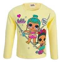 L.O.L Surprise! - T-Shirt Maglia Maglietta a Maniche Lunghe - Full Print - Cotone - Bambina - novità Prodotto Originale RH677X