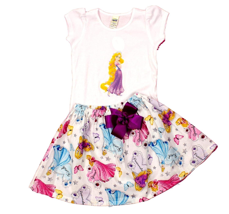 Girl Rapunzel Birthday Outfit Princess Dress