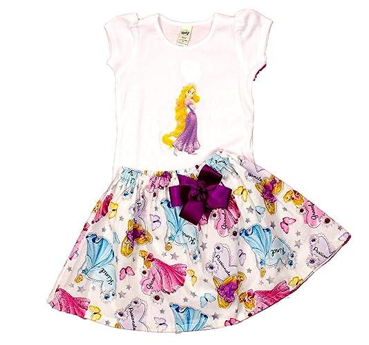 Amazon Girl Rapunzel Birthday Outfit Princess Dress Handmade