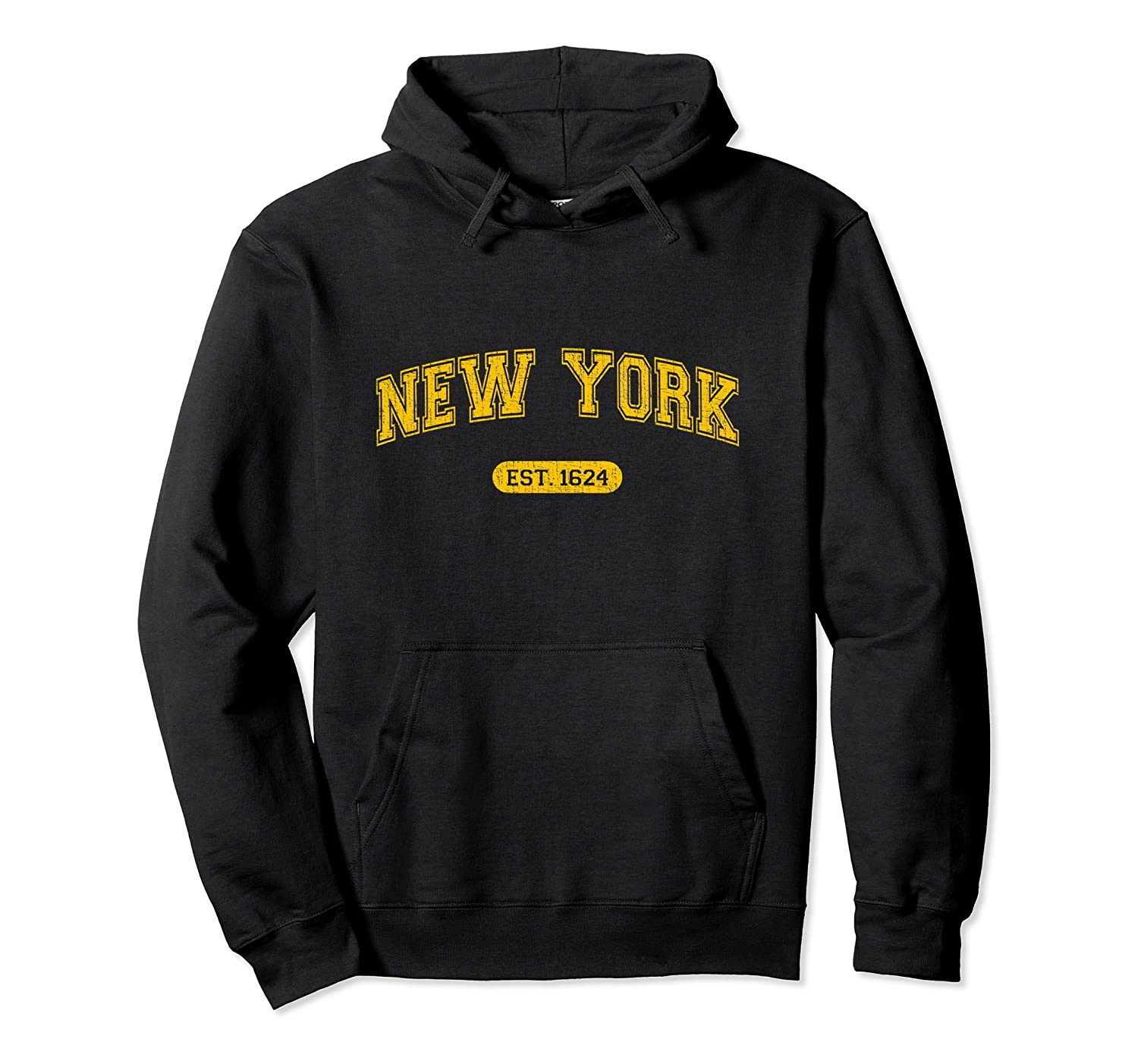Retro School-style New York 1624 Pullover Hoodie-ah my shirt one gift
