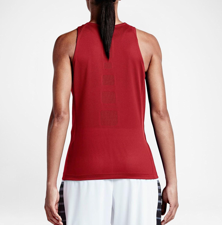 Donación Río arriba Paciencia  Baloncesto Nike W Elite Top Camiseta de Tirantes Mujer Deportes y aire  libre grupobrtelecom.com.br