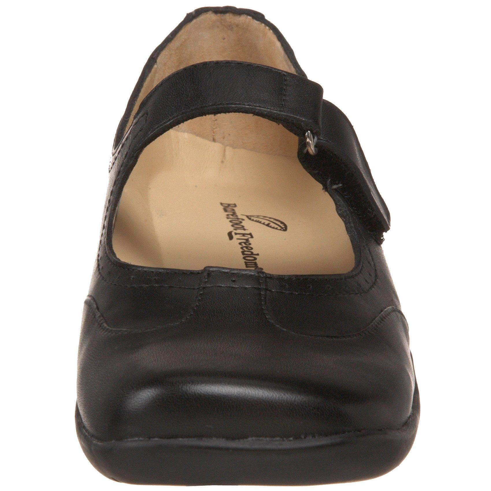 Drew Shoe Women's Isabel Mary Jane,Black Leather,6 W US by Drew Shoe (Image #4)