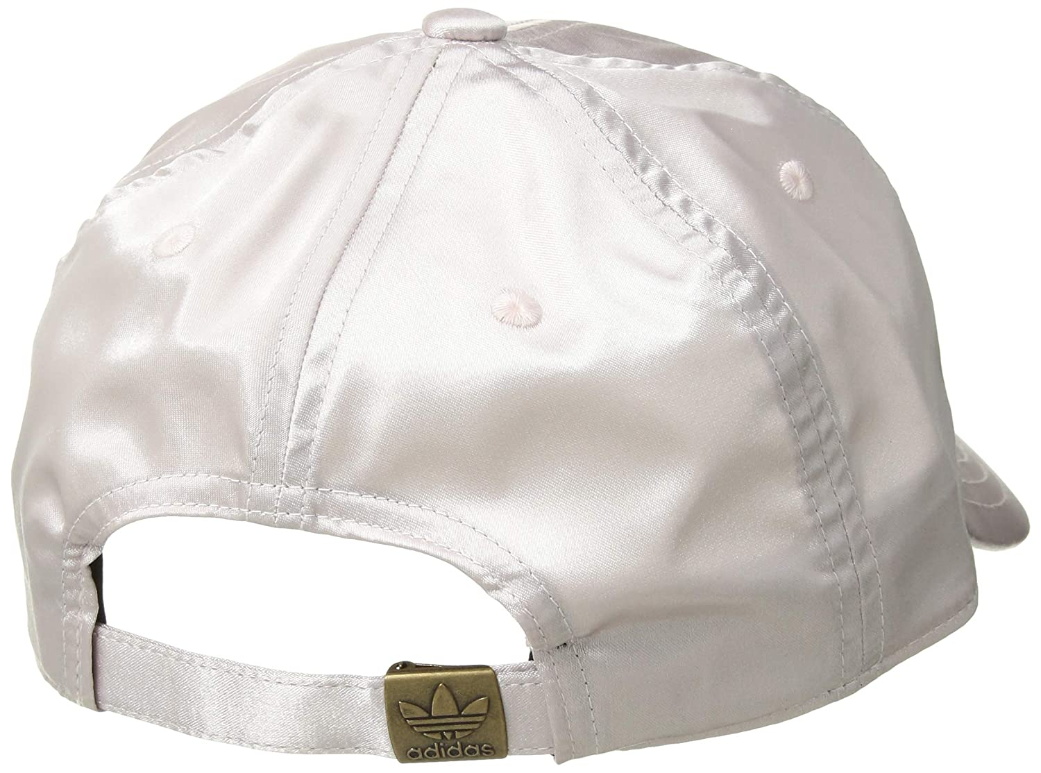 8205f32b211d3 Amazon.com  adidas Women s Originals Satin Relaxed Adjustable Strapback Cap