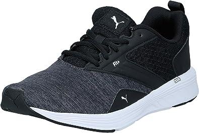 Gracias formar Clip mariposa  PUMA Unisex Adults NRGY Comet Running Shoes, Black Black White, 10.5 UK:  Amazon.co.uk: Shoes & Bags