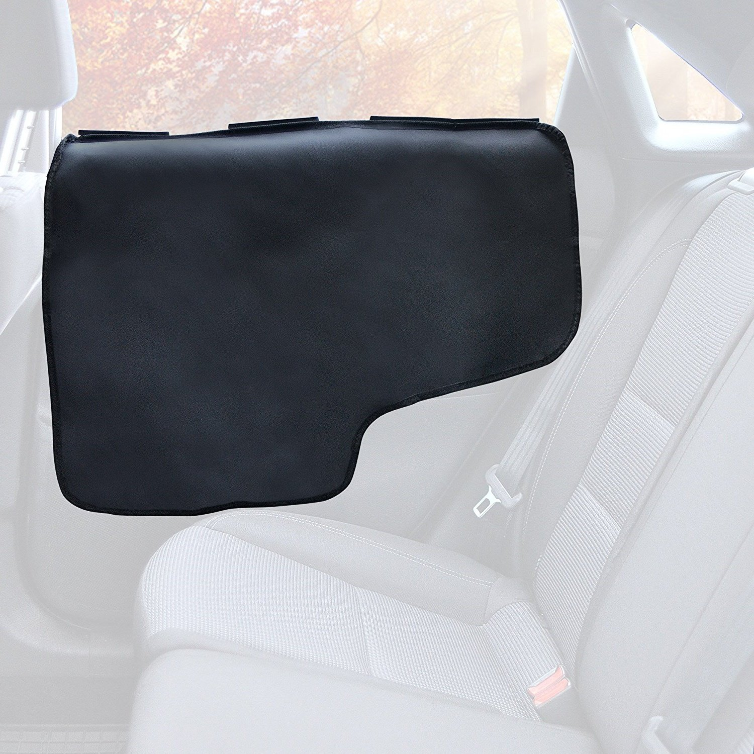 ASOCEA Premium Waterproof Car Door Protector Cover,Protect Car Interior & Doors from Pet Scratches, Hair and Dirt for Cars/Trucks / SUV's(2 Set)