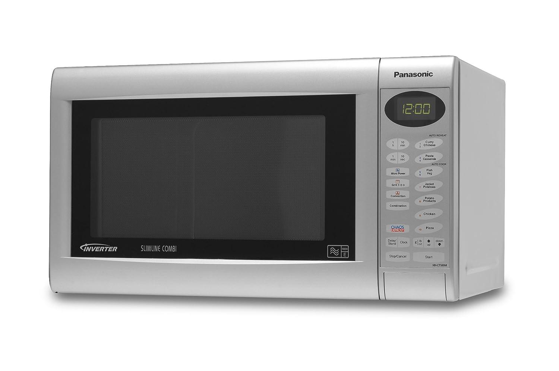 Slimline Kitchen Appliances Panasonic Nn Ct569mbpq 27 Litre Slimline Combination Microwave