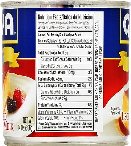 Amazon.com : Goya Foods Sweetened Condensed Milk, 14-Ounce (Pack of 24) : Grocery & Gourmet Food