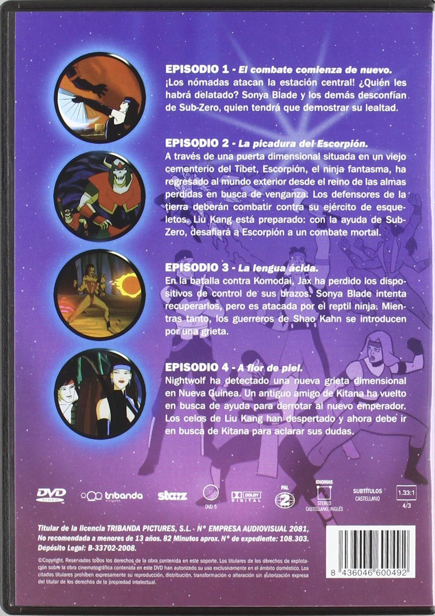 Mortal Kombat I [DVD]: Amazon.es: Varios: Cine y Series TV