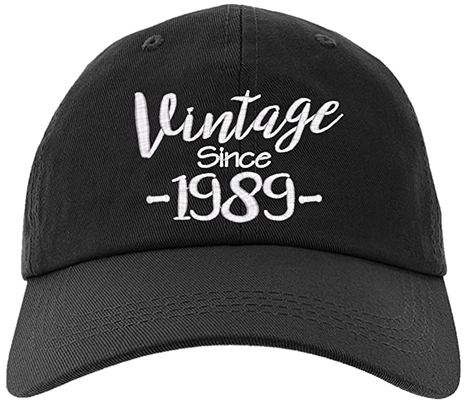 Cap 1989 30th Birthday Gift Vintage Aged To Be Perfected Since Baseball Hat