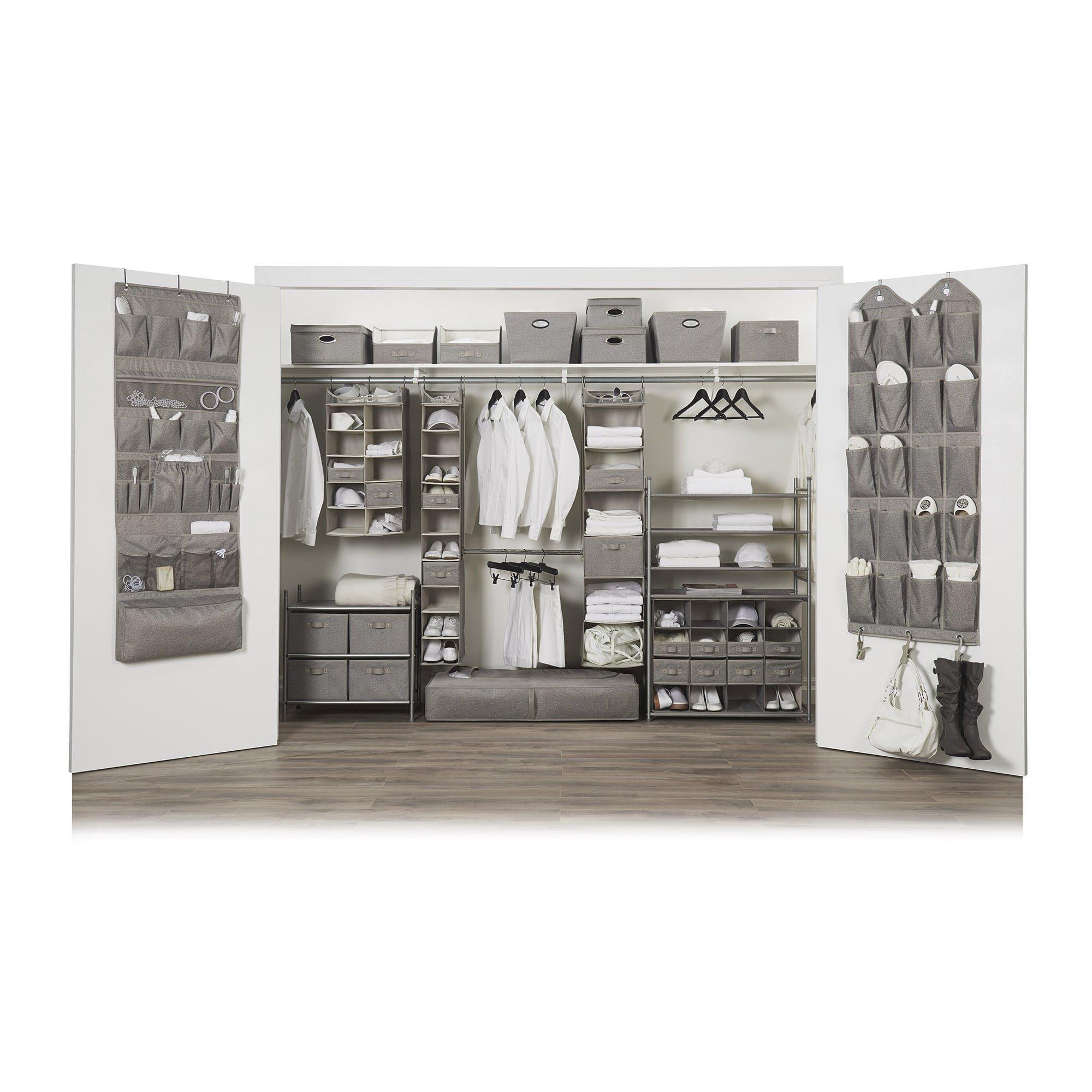 neatfreak Harmony Twill 2X5 Shelf Closet Organizer by Closet Spice (Image #4)